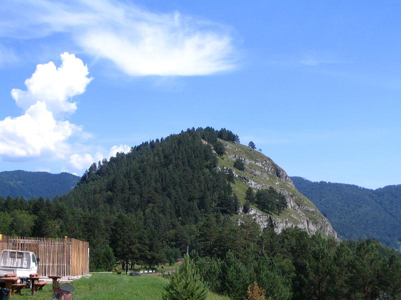 Гора в Чемале 2014 год