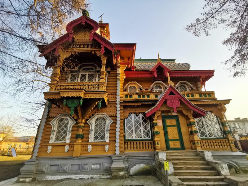Усадьба Бугрова главный фасад