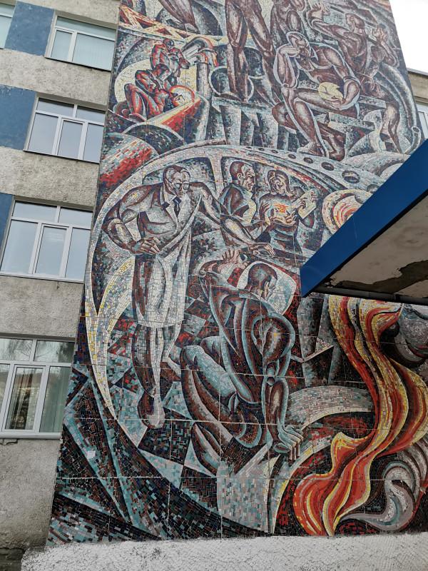 Советские мозаики Дзержинска