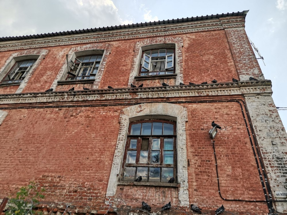 Городищенская суконная фабрика Четвериковых