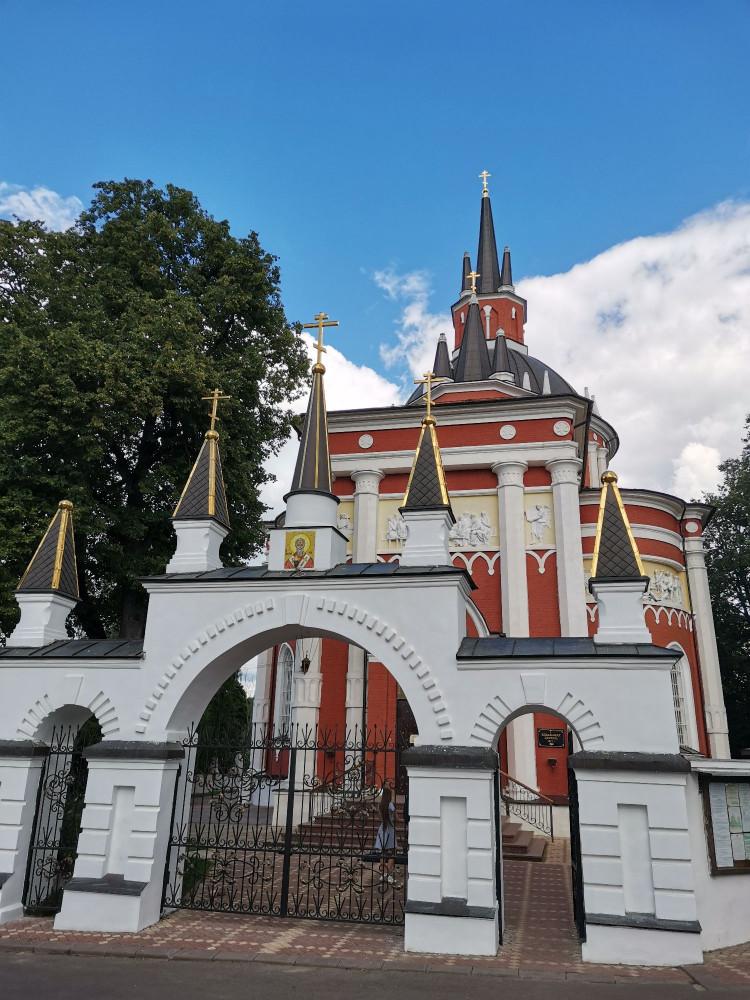 Никольская церковь в Царево