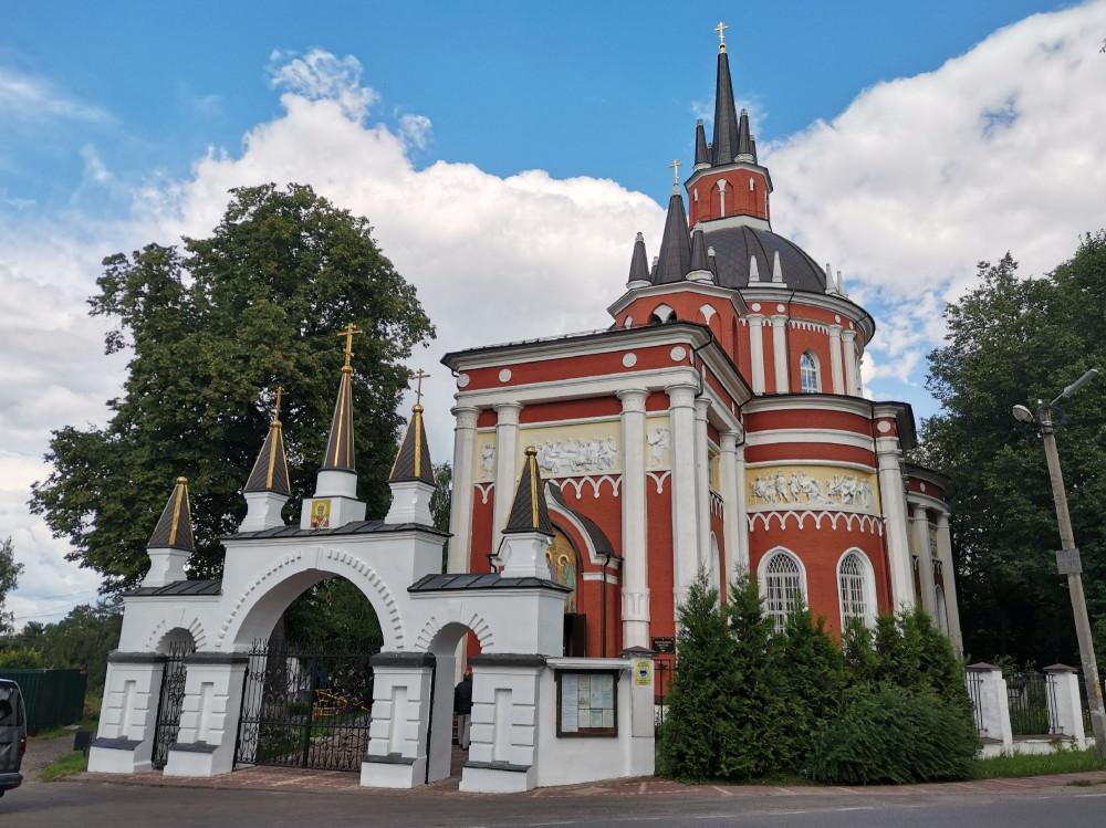 Храм Николая Чудотворца в Царёво