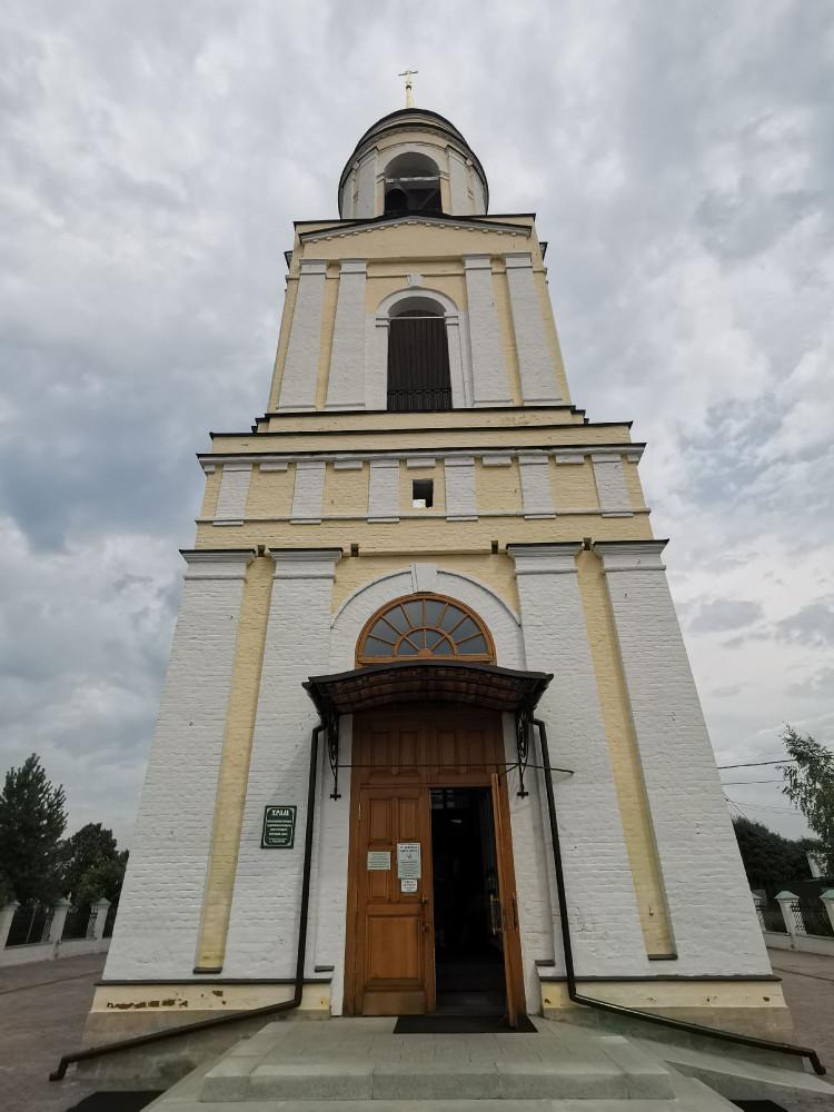 Колокольня Церковь Преображения Господня в Радонеж