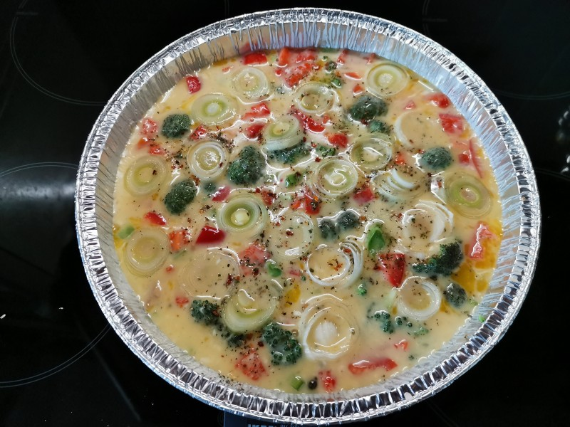 Фриттата с овощами