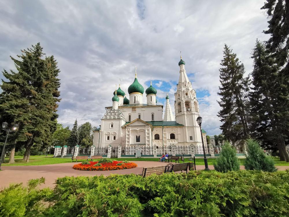 Церковь Ильи Пророка Ярославль