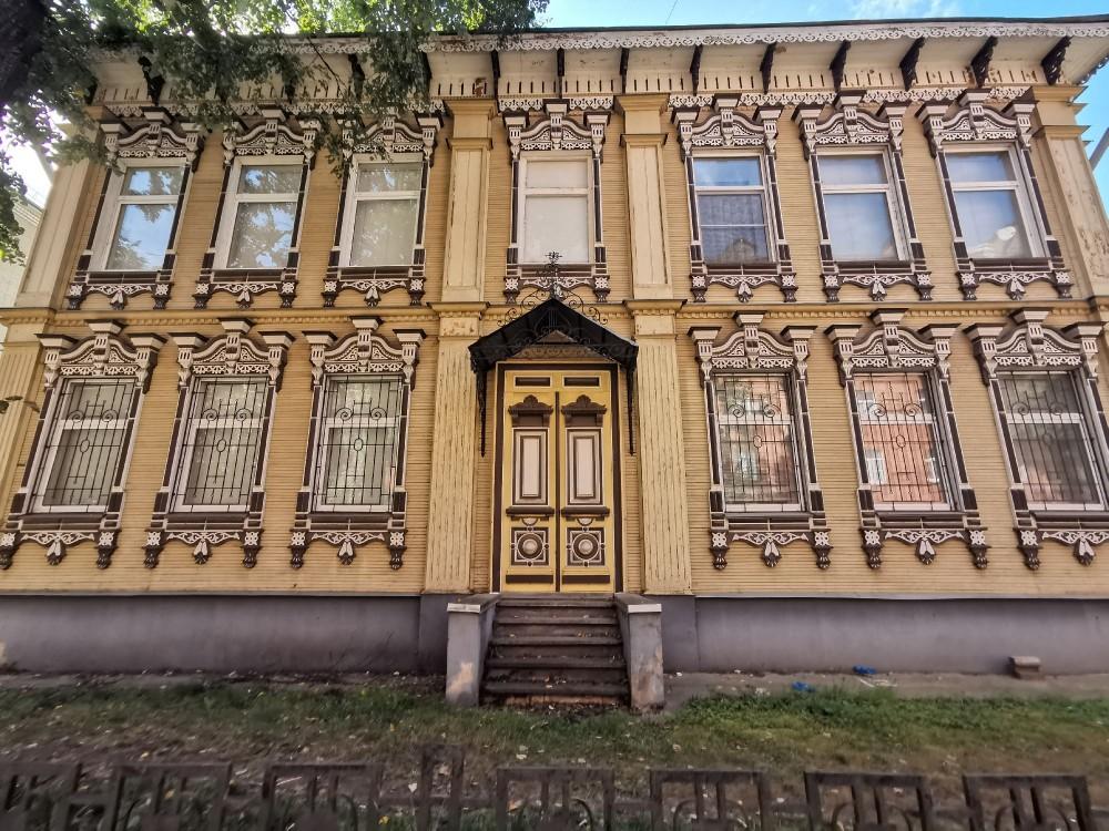 ул. Пушкина 11 бывший дом Веретенниковых-Глебездова