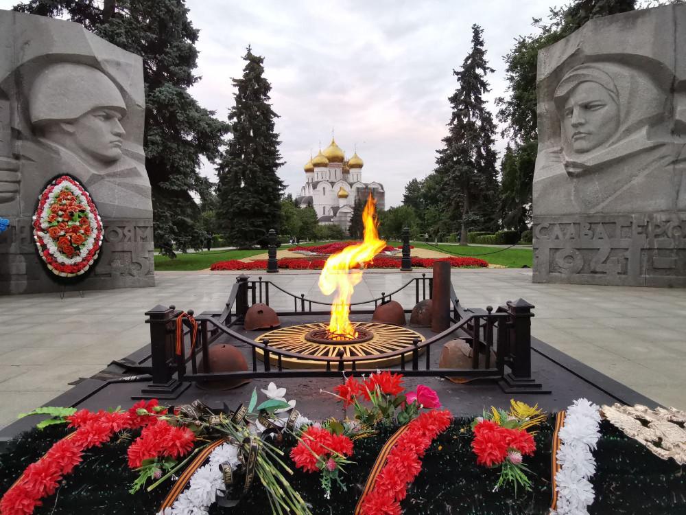Павшим в Великую Отечественную Войну