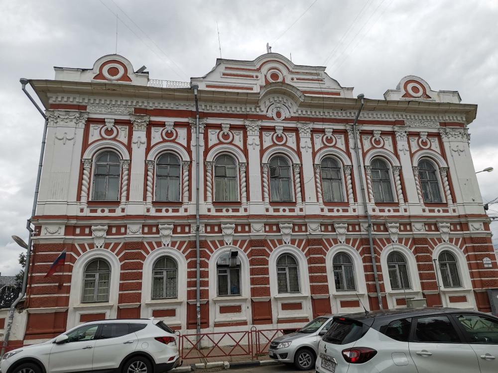 Главный дом усадьбы Полетаевых