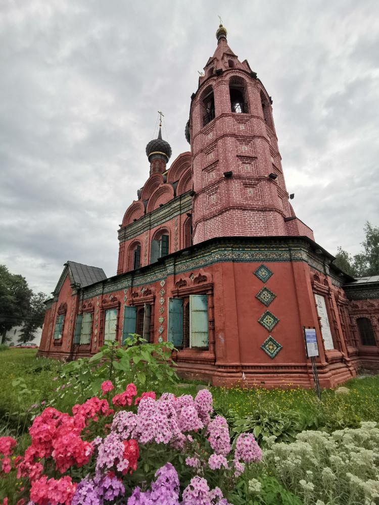 Храм Богоявления Господня Ярославль