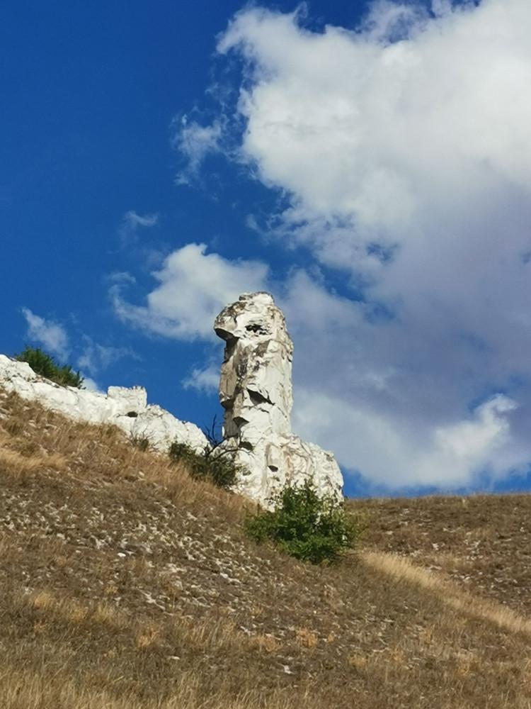Дивы или останцы - меловые столбы