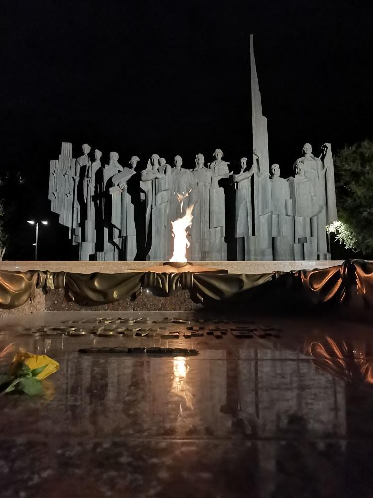 Мемориал, автор Фёдор Сушков.
