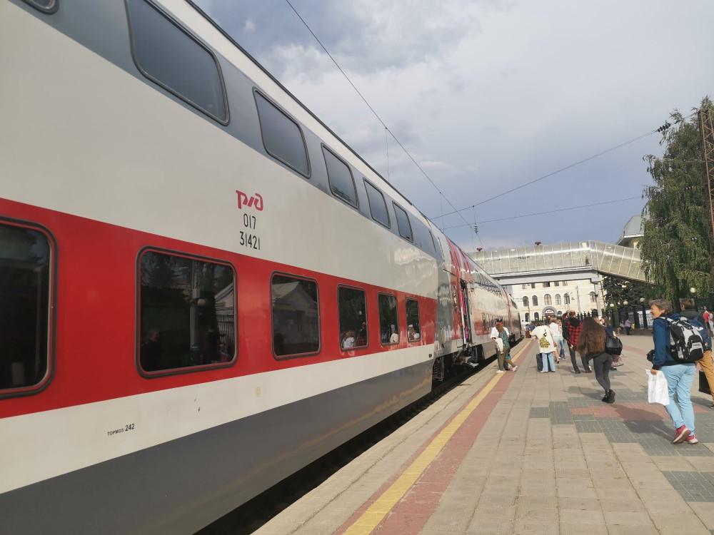 Поезд #моймаршак из Воронежа в Москву