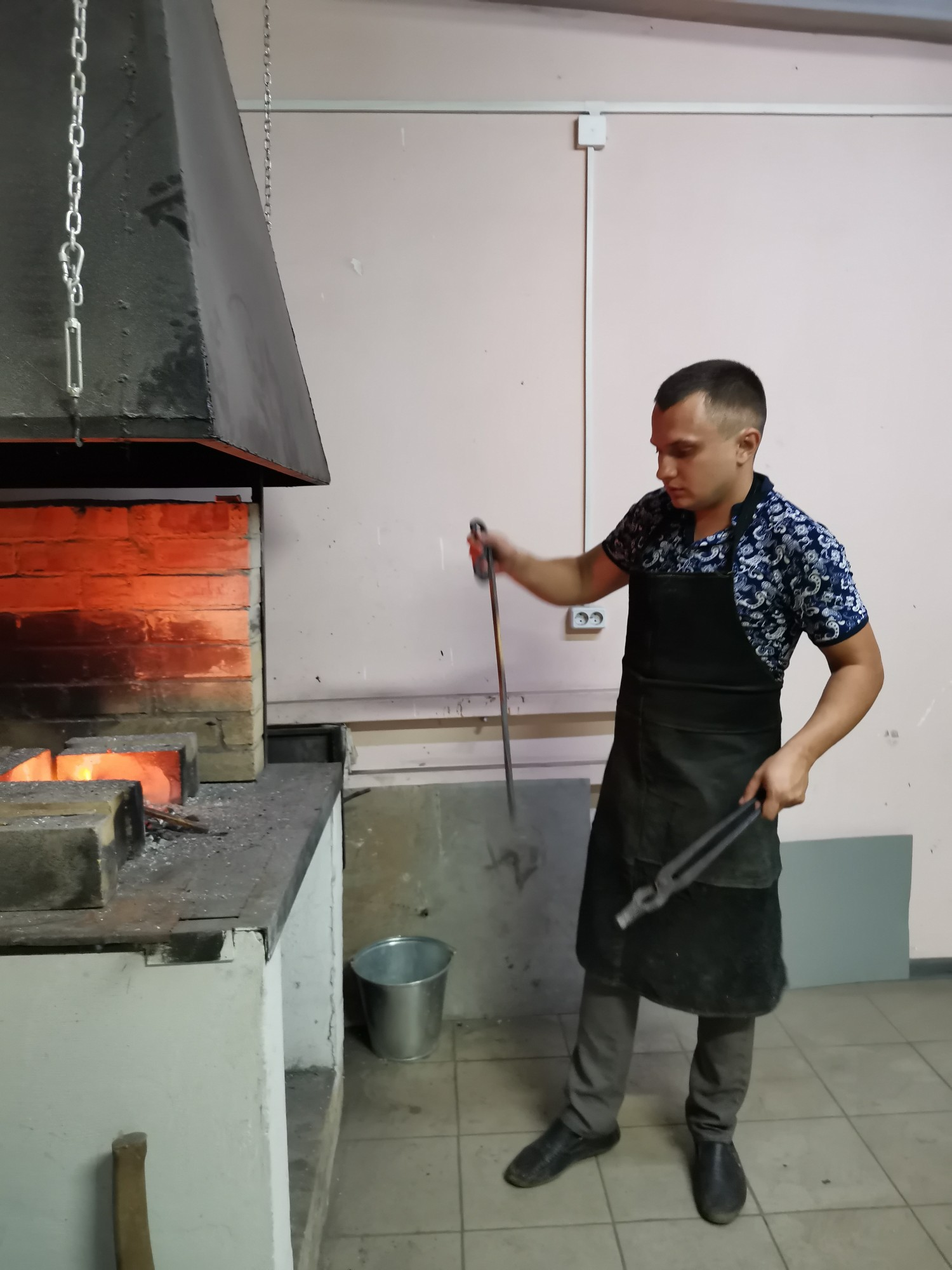 Кузнечная мастерская в Доме Ремесел город Бобров