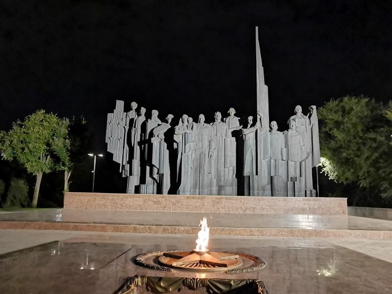Мемориал ВОВ площадь Победы Воронеж