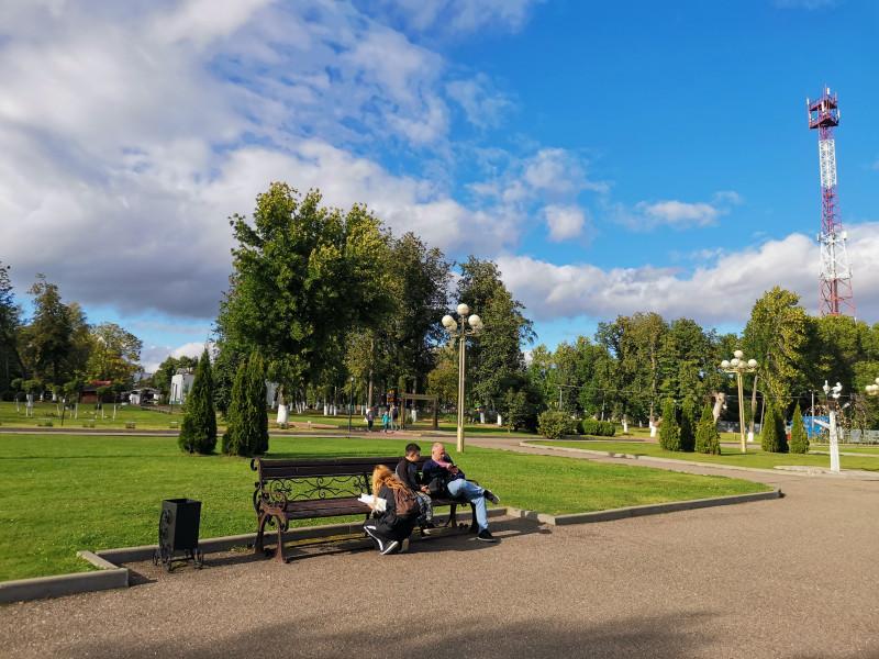 Набережная озера Неро Городской парк