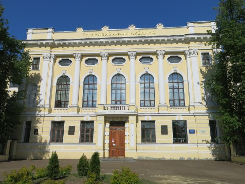 Мое фото от 2016 года гимназии им. Кекина Ростов Великий