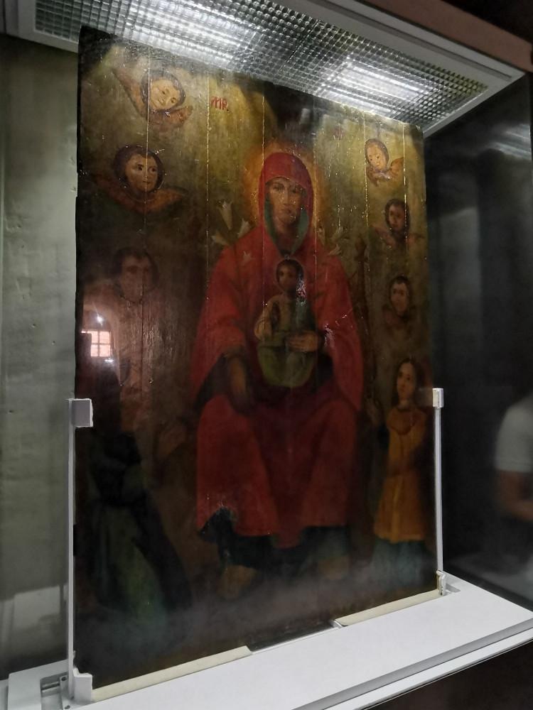 Список с Сицилийской иконы Божией Матери
