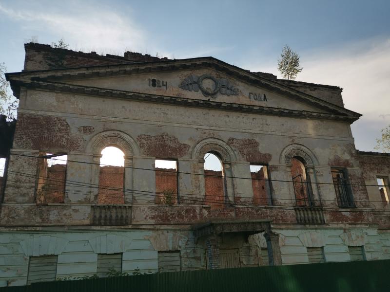 """""""Новое"""" здание семинарии, сгорело в 1993г"""
