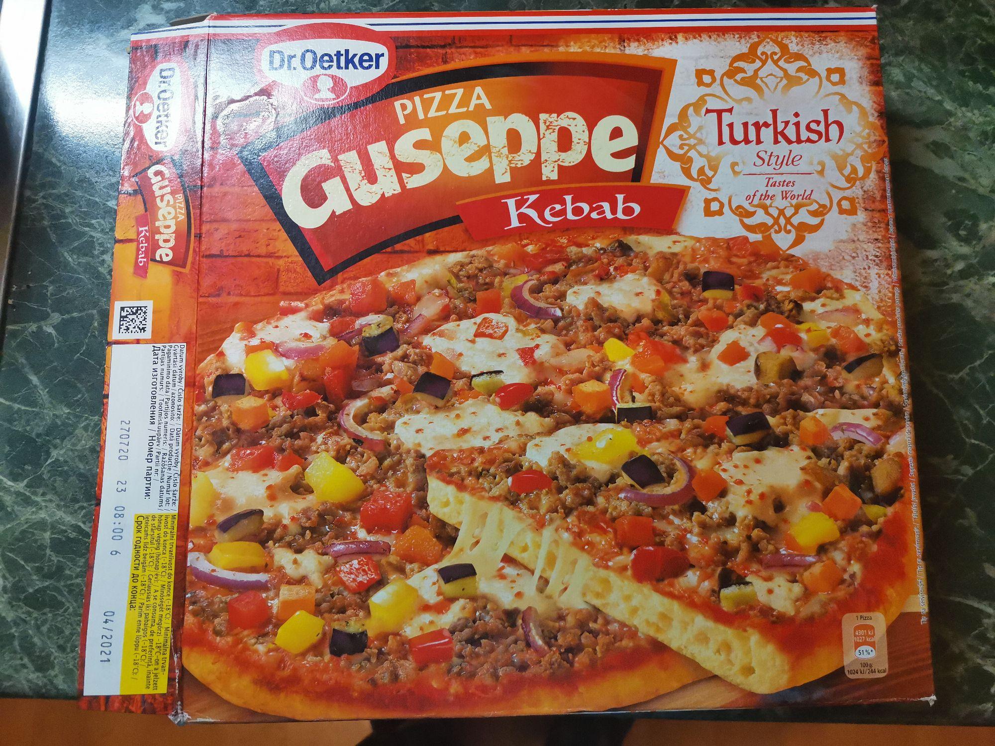 Пицца Guseppe Kebab