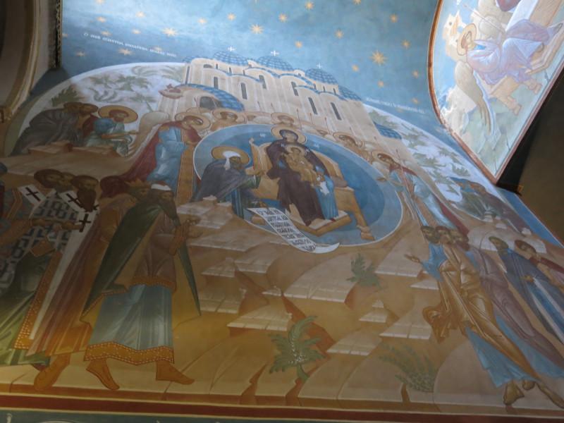 роспись Покровского храма Троице-Сергиевой Лавры