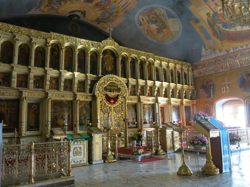 Иконостас Покровского храма Троице-Сергиевой Лавры