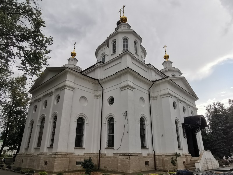 Храм Христа Спасителя Николо-Берлюковская пустынь