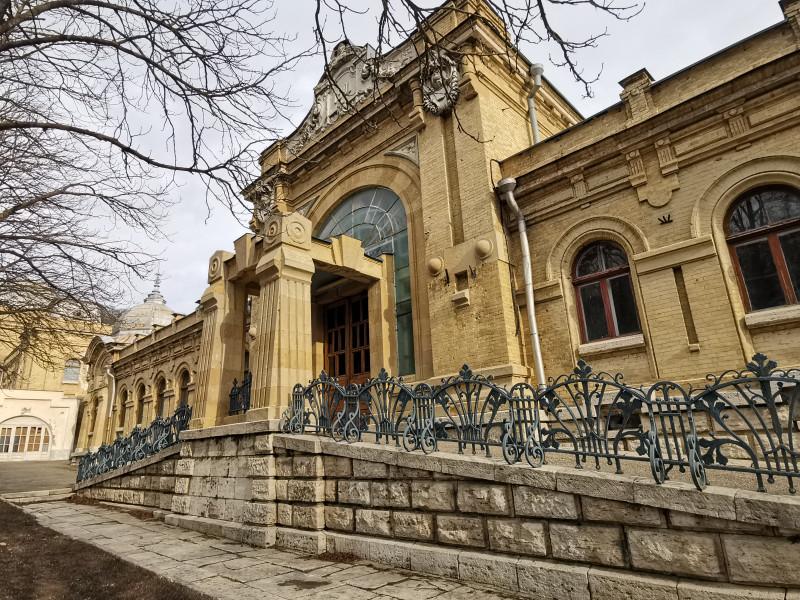 Нижний корпус Пушкинских ванн