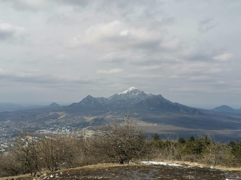 Вид на гору Бештау