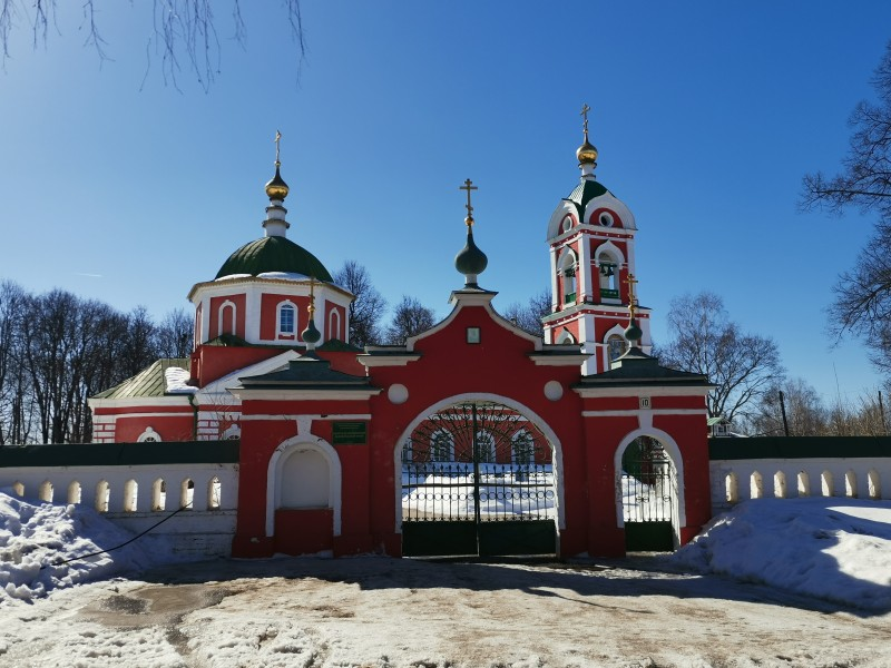 Храм Воздвижения Честного Креста Господня Вязники