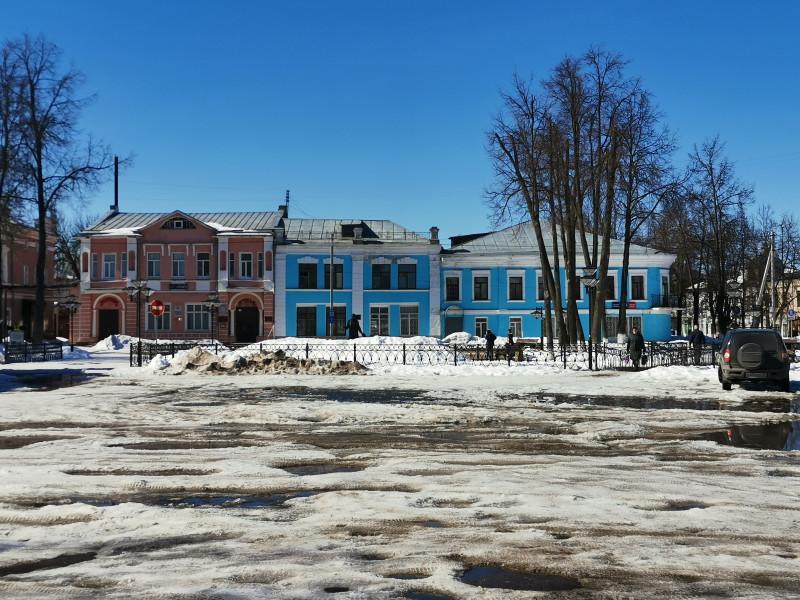 Соборная площадь Вязники
