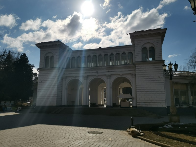 Колоннада Курортный бульвар Кисловодск
