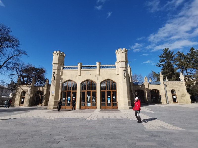 Нарзанная галерея Кисловодск