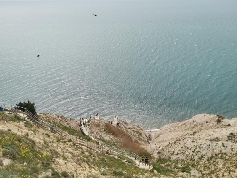 Лестница 800 ступеней Лысая гора