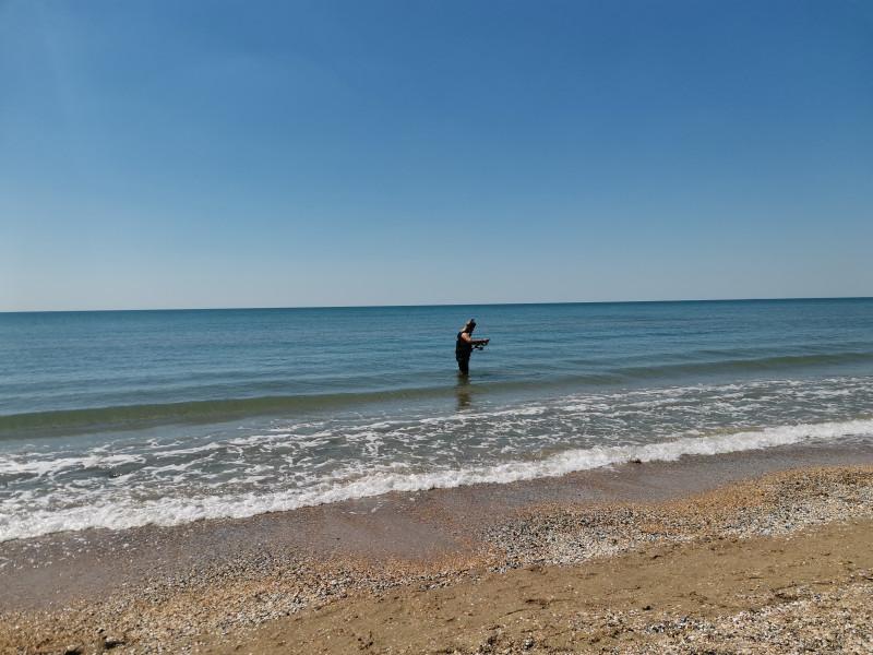 Центральный пляж Анапа