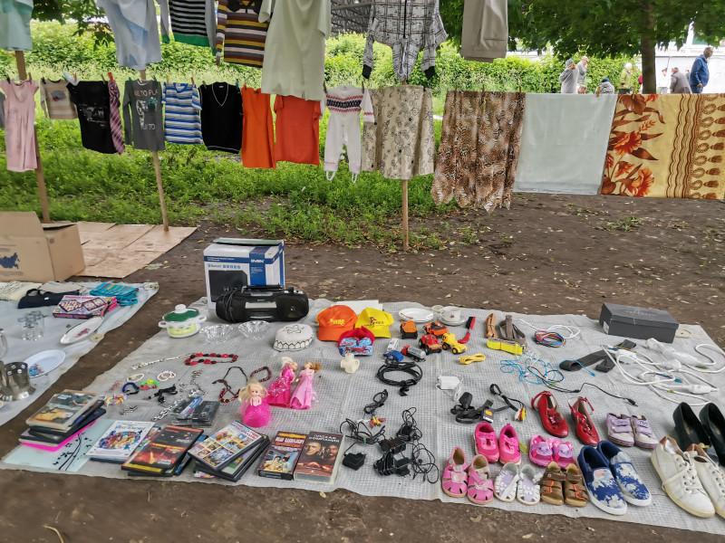 Блошиный рынок Рязань