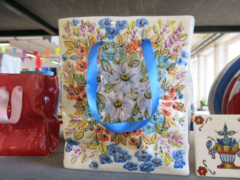 пакет подарочный из керамики