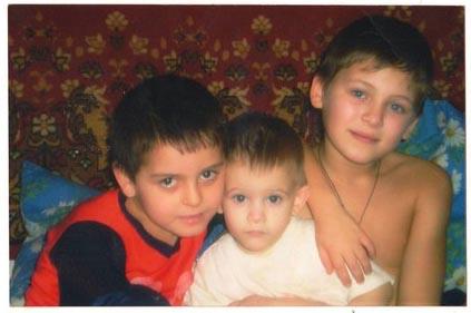 фото троих внуков