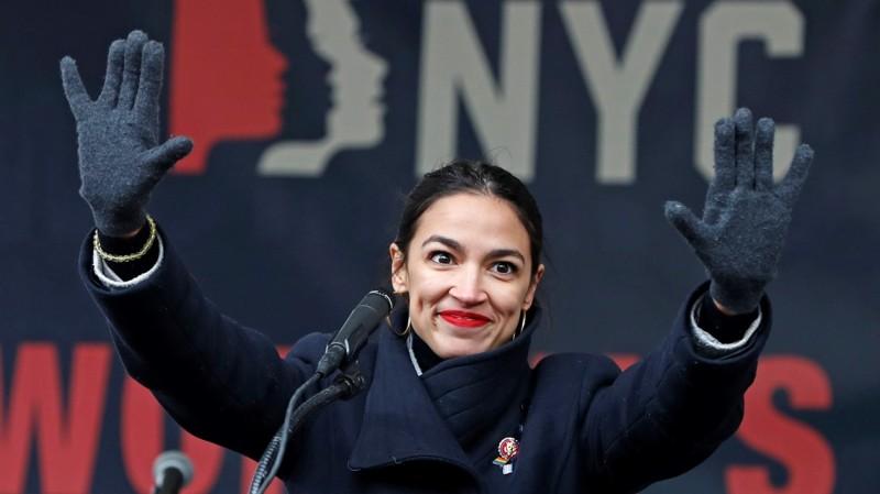 Александрия Окасио-Кортес - кандидат в американские президенты-2020