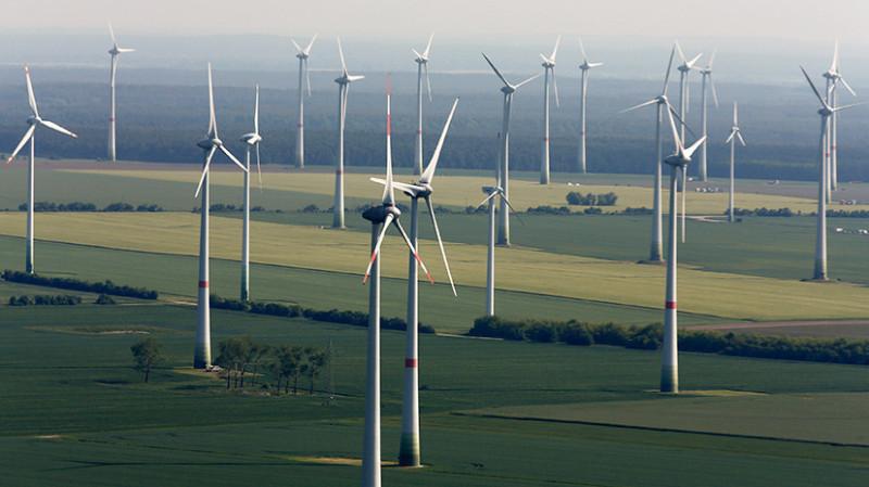 Ветрогенерация в Германии.