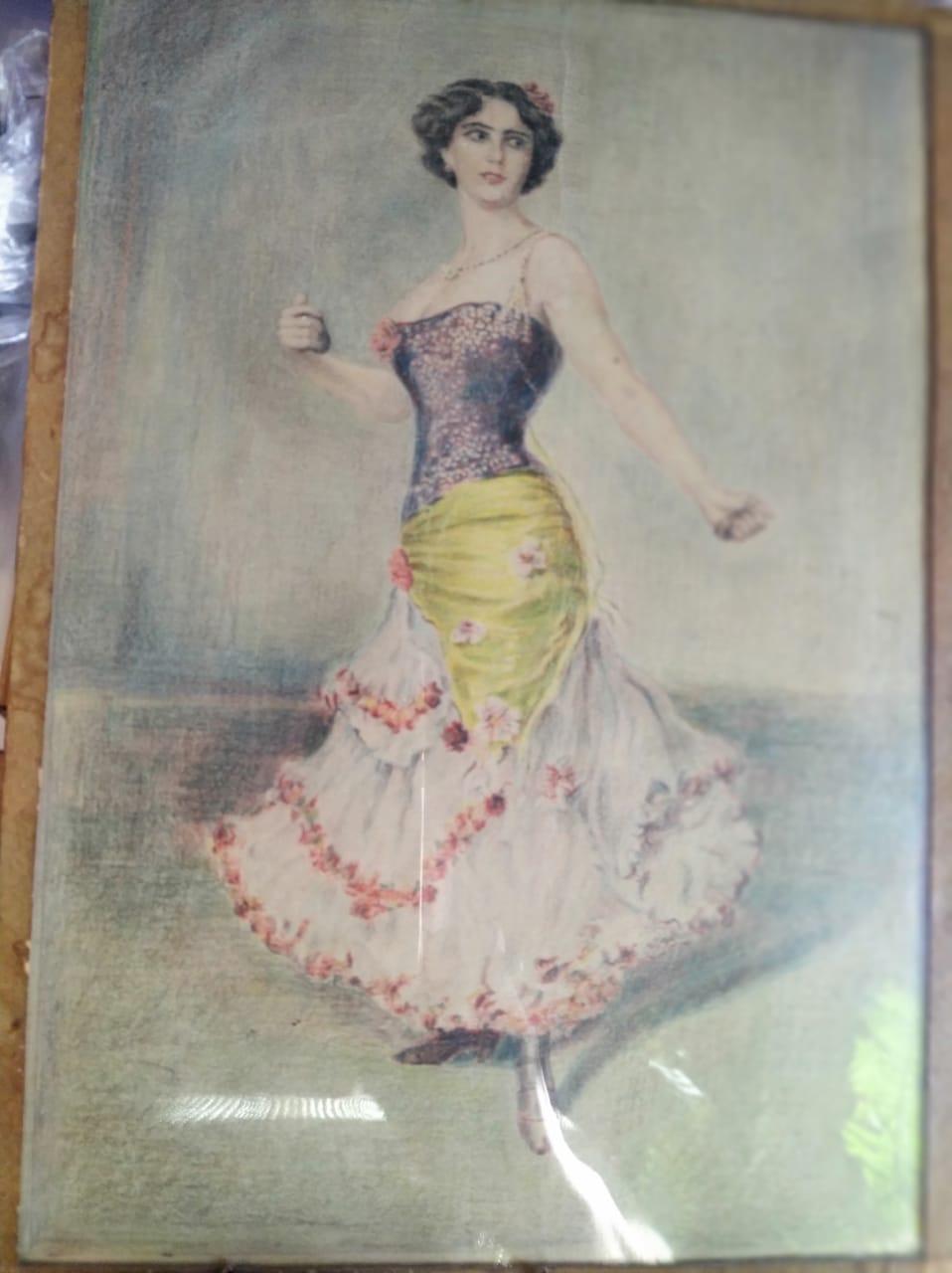 Карандашный рисунок А.Руднева, моего дедушки