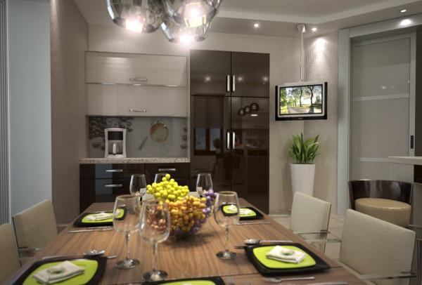 кухня 3 вид