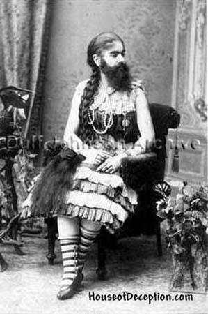 Bearded Lady Annie Jones 2