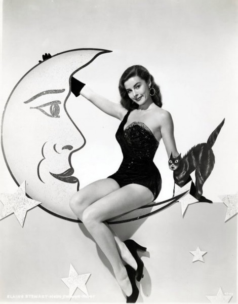 vintage-halloween-pinup-Elaine-Stewart