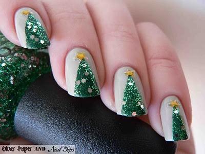 1-Christmas-Nail-Art