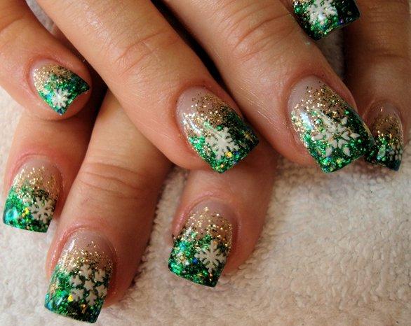 ac328b4f_Green-Nail-Art