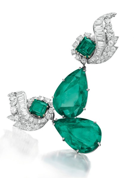 A_Pair_of_Colombian_Emerald_and_Diamond_Ear_Pend