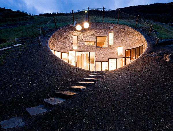 Swiss Mountain House Rocks
