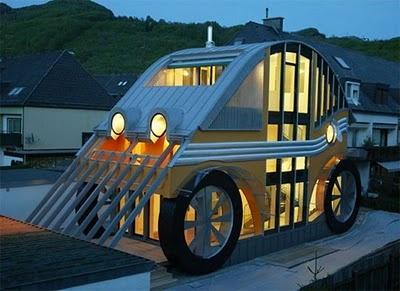 Volkswagen Beetle House