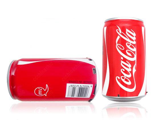 Coca Cola Cans Shaped Hi-Fi