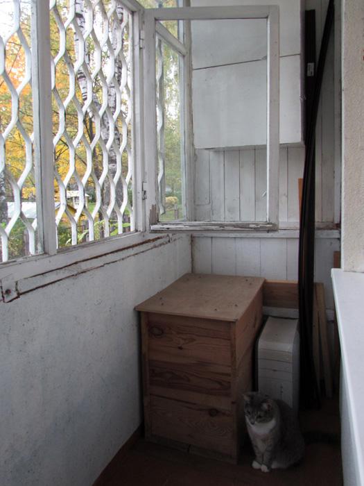 Брежневка балкон - таблицы и границы.